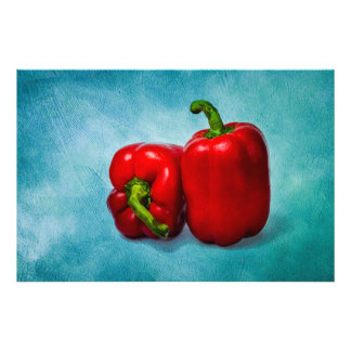 Red Bell Peppers Photo Print