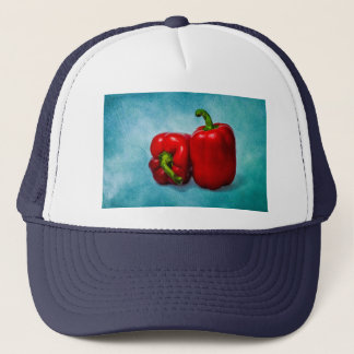 Red Bell Peppers Trucker Hat