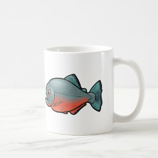 Red Bellied Piranha Coffee Mug