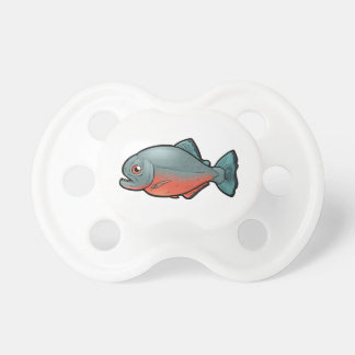 Red Bellied Piranha Pacifier