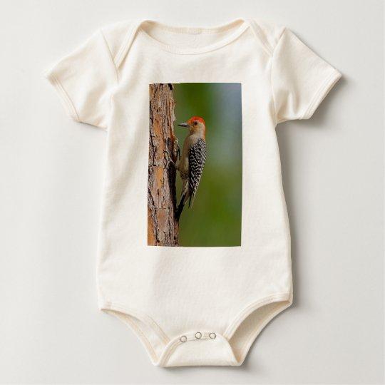 Red-bellied Woodpecker Baby Bodysuit