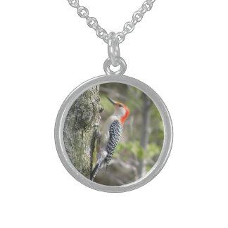 Red Bellied Woodpecker Bird Necklace