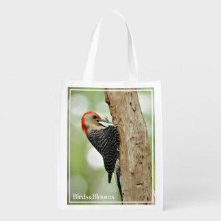 Red-Bellied Woodpecker Grocery Bag