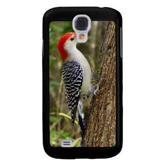 Red Bellied Woodpecker iPhone 3g Case Galaxy S4 Case