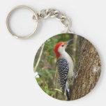 Red Bellied Woodpecker Keychain