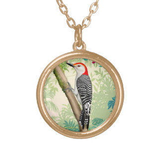 Red Bellied Woodpecker Wild Bird Necklace