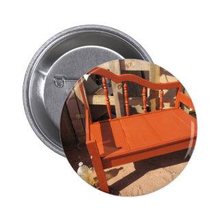 Red Bench 2 Inch Round Button