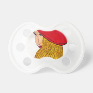 Red Beret Pacifier