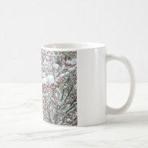 Red Berries and Snow Coffee Mug