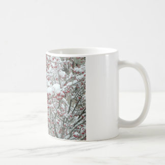Red Berries and Snow Coffee Mug