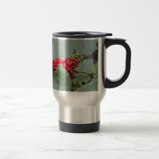 Red Berries In Alaska Travel Mug