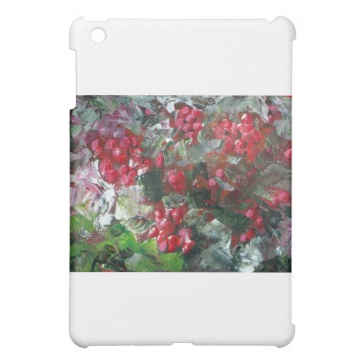 Red Berries Case For The iPad Mini