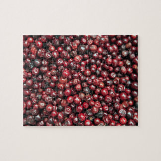 Red berries of the Himalayas Jigsaw Puzzle