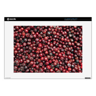 Red berries of the Himalayas Laptop Skin