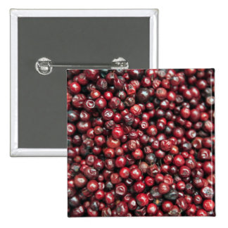 Red berries of the Himalayas Pinback Button
