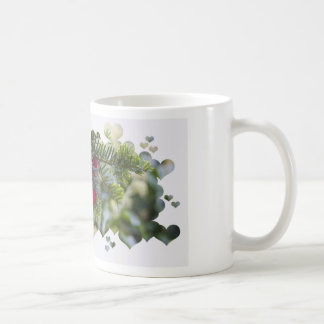 Red Berries with Hearts Coffee Mug