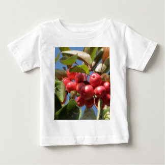 Red Berry  Branch Baby T-Shirt