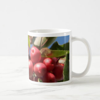 Red Berry  Branch Coffee Mug
