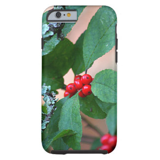 Red Berry Bush Tough iPhone 6 Case