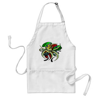Red Berry Delight Adult Apron