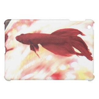 Red Betta Fish Case For The iPad Mini