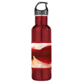 Red Betta Fish 24oz Water Bottle