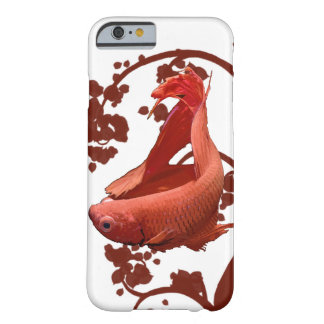 Red Betta Siamese Fighting Fish Barely There iPhone 6 Case