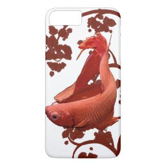 Red Betta Siamese Fighting Fish iPhone 7 Plus Case