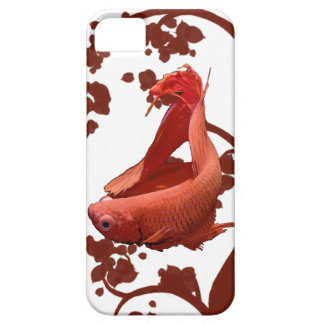 Red Betta Siamese Fighting Fish iPhone SE/5/5s Case
