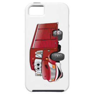 Red Beverage Truck Cartoon iPhone SE/5/5s Case