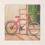 bicycle, red, bike, scarf, accessories, chiffon