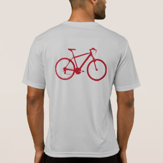 red bicycle / cycling T-Shirt