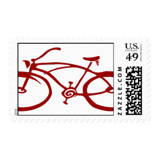 Red Bicycle Postage