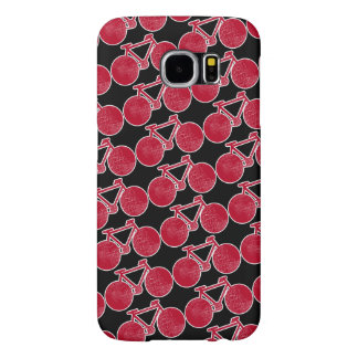 red Bicycle Samsung Galaxy S6 Case
