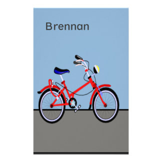 Red Bicycle Stationery