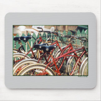 """""""Red Bicycles' Mousepad"""