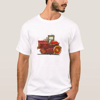 Red Big Dozer Tractor  Apparel T-Shirt