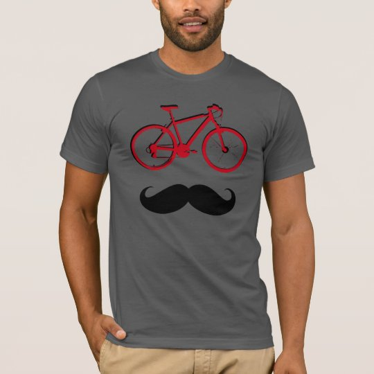 red bike and moustache T-Shirt