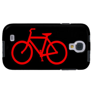 Red Bike Galaxy S4 Case