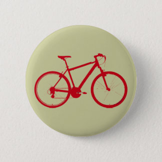 red bike, cycling button