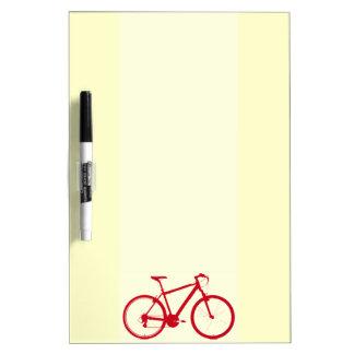 red bike, cycling Dry-Erase board
