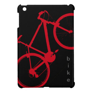 red bike, cycling iPad mini covers