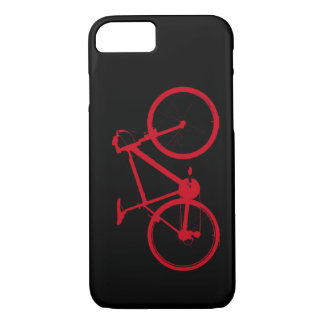 red bike, cycling iPhone 7 case