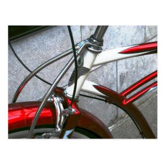 red bike postcard