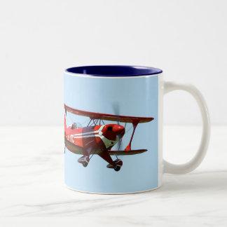 Red Biplane Mugs