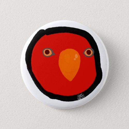 """Red birb """"GUMI"""" Button"""