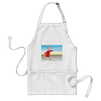 Red Bird Adult Apron