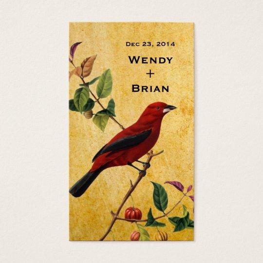 Red Bird Business Card