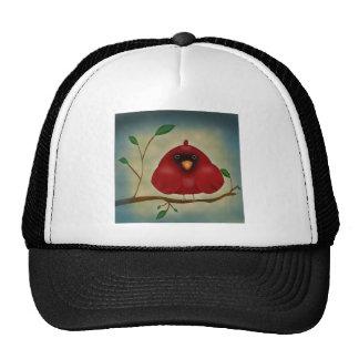 Red Bird Cardinal Trucker Hat
