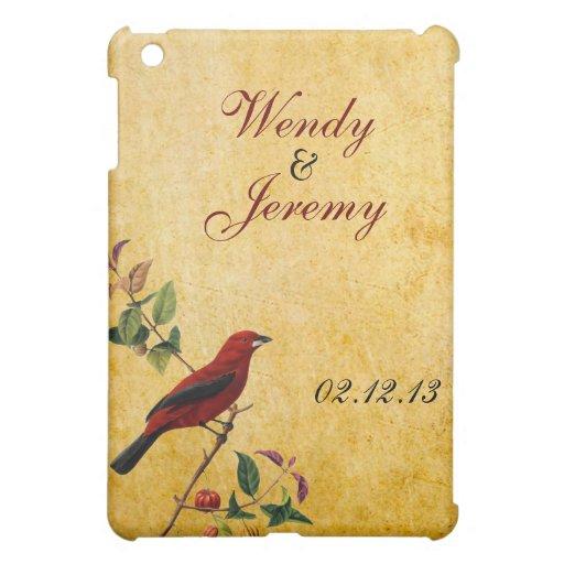 Red Bird iPad Mini Case